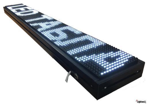 Лед табела 128x16, P10V12816 W