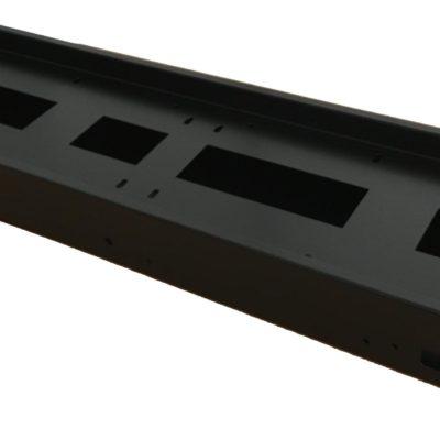 Кутия с капак за външен монтаж за 640 x 160 мм LED панел P10