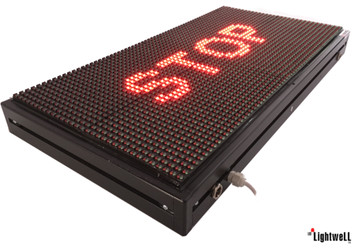 Лед табела 64x32, червена, зелена, (жълта) P10RG6432