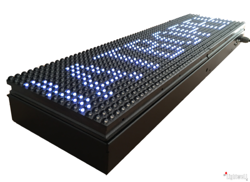 Лед табела 64×16, P10V6416 4 в 1 отворено, затворено