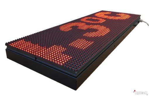 Светеща LED Табела с GPS часовник, прогноза за времето, новини и течащ текст