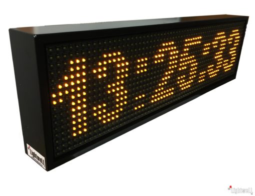 LED часовник с GPS синхронизация