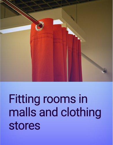 Fitting-rooms