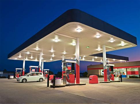 Табло котировки за бензиностанции