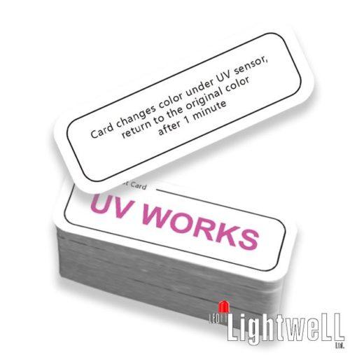 UVC-Check Card – проверка на работоспособност, ефективност и безопасност на uvc бактерицидните устройства
