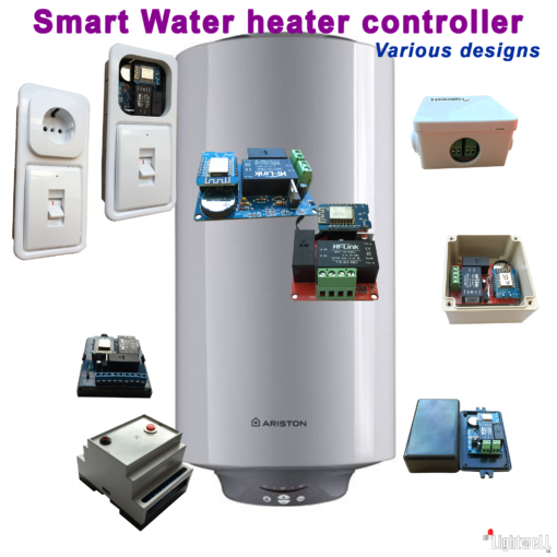 Controller for heating / cooling devices up to 3.5 kW.