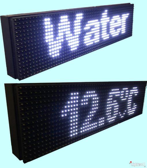 LED табло-информатор за басейни с дистанционно измерване на температурата на водата