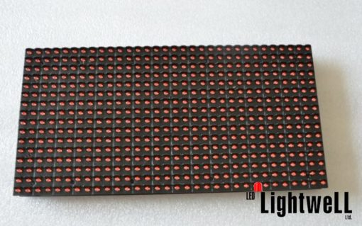 LED панел червен P10