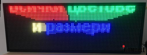 Лед табела 96x32, пълноцветен, RGB