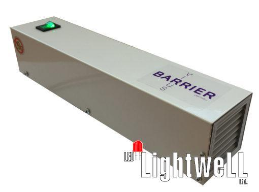 Virus BARRIER Lightwell – Ultraviolet Bactericidal Air Recirculato