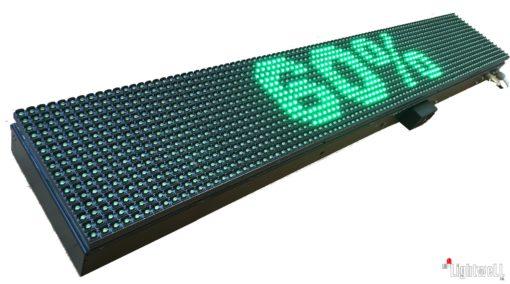 LED табло за басейни с едновременно измерване на температурата на водата, въздух и влажност